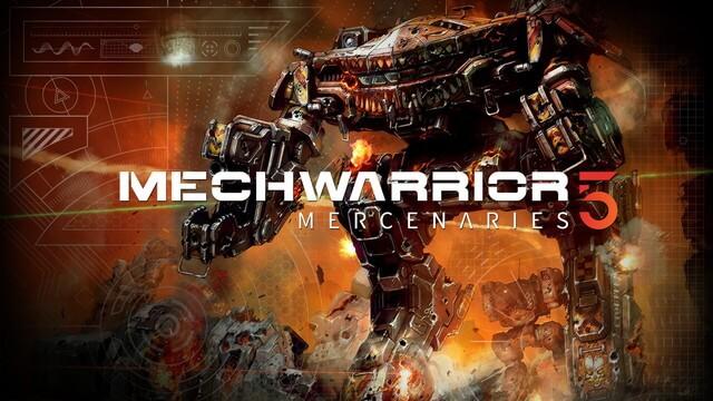 巨大ロボシム『MechWarrior 5』PS4/PS5版が発売決定!!!!!